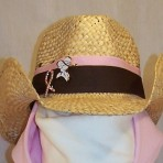 Crushable Straw Cowgirl Hat