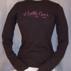Crazy Font L/Sleeve Thermal, Multiple Colors