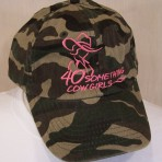 Camo Cowgirl Cap, Various Colors