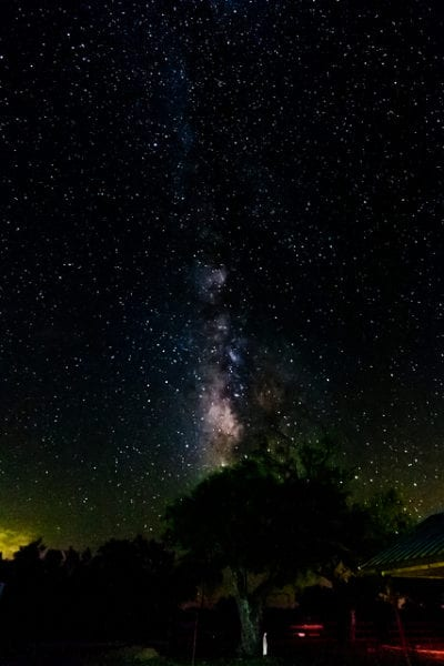 Stars at Night on the Lazy TK