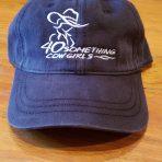 **NEW** Black ball cap with logo