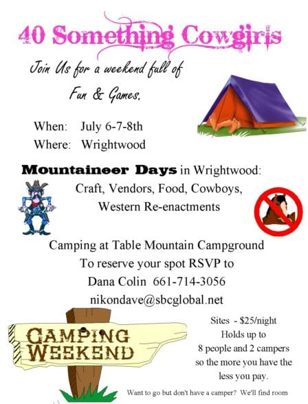 ACTON CA - Wrightwood Camping Trip 2018-81 @ ACTON CA -  | Wrightwood | California | United States