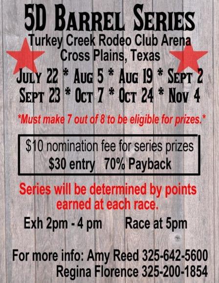 Breckenridge Tx- 5D Barrel Series @ Turkey Creek Arena | Cross Plains | Texas | United States
