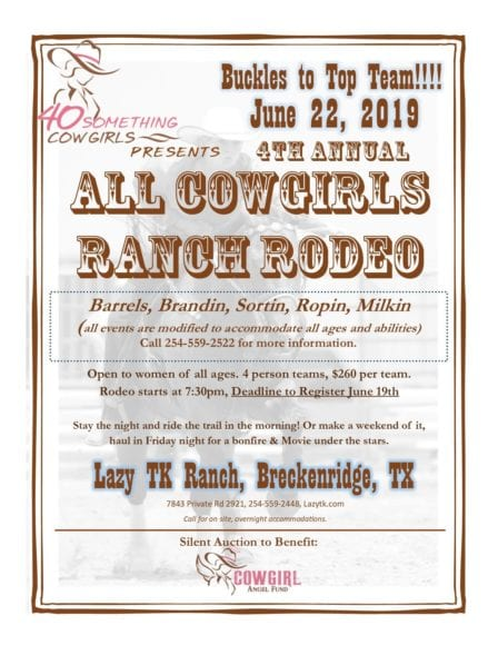 40SC Headquarters-Cowgirl Weekend @ Lazy TK Ranch